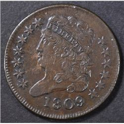 1809 HALF CENT  AU