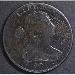 1801 LARGE CENT  F/VF
