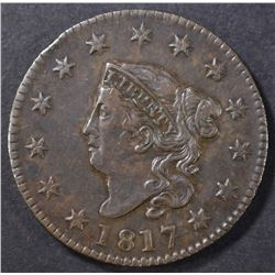 1817 LARGE CENT XF/AU