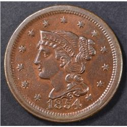 1854 LARGE CENT CH BU RB