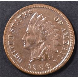 1886 INDIAN CENT XF