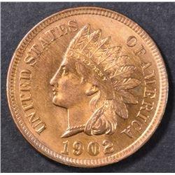 1902 INDIAN CENT CH/GEM BU RD