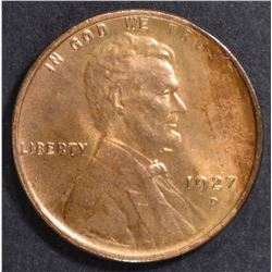 1927-D LINCOLN CENT CH BU RD