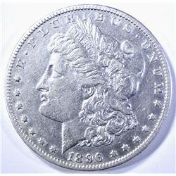 1896-O MORGAN DOLLAR, AU