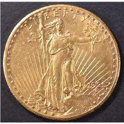 1925-S $20 SAINT GAUDENS  BU  OLD CLEANING