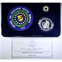 1997 U.S. MINT LAW ENFORCEMENT INSIGNIA SET
