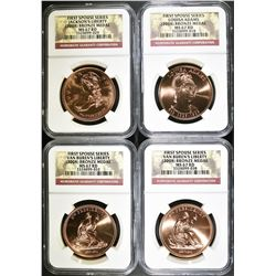 2008 FIRST SOUSE SET NGC MS-67 RED