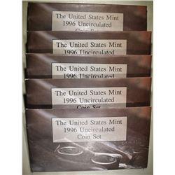 5-1996 U.S. MINT UNC SETS