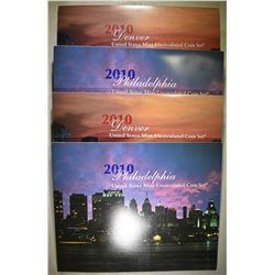 2-2010 U.S. MINT UNC SETS