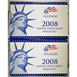 2-2008 U.S PROOF SETS