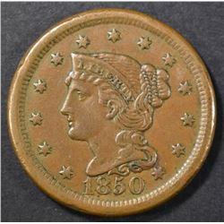 1850 LARGE CENT AU