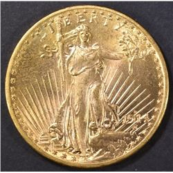 1914-D $20.00 SAINT GAUDENS GOLD CH BU