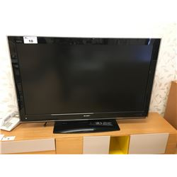 "SHARP LC-52D82U AQUOS 52"" LCD TELEVISION WITH REMOTE"