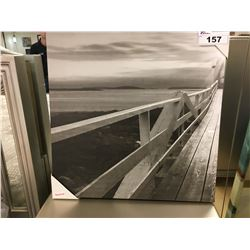 SMALL BOARDWALK PORTRAIT CANVAS ARTWORK