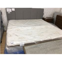 KING NO FLIP BAMBOO PILLOW TOP MATTRESS (BOX SPRING NOT INCLUDED)