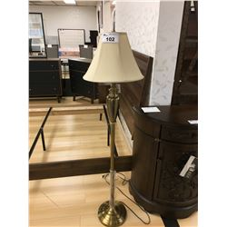 ASHLEY SIGNATURE GOLD METAL TRADITIONAL FLOOR LAMP