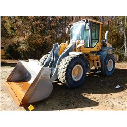 2012 VOLVO L60G WHEEL LOADER, VIN/SN:01034 - BUCKET, COUPLER, CAP, A/C, AUTO LUBE, 20.5R25 TIRES, ME