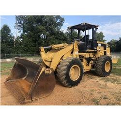 2004 CAT 938G SERIES II WHEEL LOADER, VIN/SN:RTB00798 - BUCKET, CANOPY, 20.5-25 TIRES, METER READING