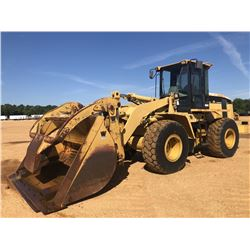 1999 CAT 938G WHEEL LOADER, VIN/SN:6WS01487 - WICKER FORKS W/ TOP CLAMP, WICKER FORK MOUNTED BUCKET,