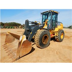 2016 JOHN DEERE 544K WHEEL LOADER, VIN/SN:674396 - BUCKET, CAB, A/C, 20.5-25 TIRES, METER READING 1,