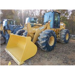 2003 JOHN DEERE 544H WHEEL LOADER, VIN/SN:588099 - BUCKET, RIDE CONTROL, CAB, A/C, 28L-26 TIRES