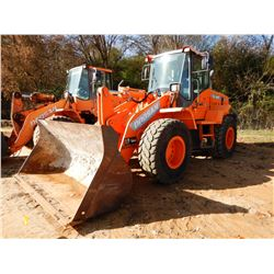 2014 DOOSAN DL250-3 WHEEL LOADER, VIN/SN:10161 - BUCKET, CAB, A/C, 20.5R-25 TIRES, METER READING 3,2