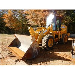 2002 JOHN DEERE 624H WHEEL LOADER, VIN/SN:582214 - COUPLER, JRB FORKS, JRB MP BUCKET, CAB, A/C, 17.5