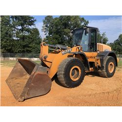 2013 CASE 921F WHEEL LOADER, VIN/SN:NDF230016 - BUCKET, LOAD RITE FORCE SCALE SYSTEM, RIDE CONTROL,