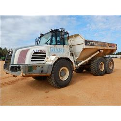 2006 TEREX TA30 ARTICULATED DUMP, VIN/SN:A9021101 - CAB, A/C, 23.5R25 TIRES, METER READING 9,164 HOU
