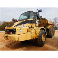 2005 CAT 725 ARTICULATING DUMP, VIN/SN:B1L00387 - CAB, A/C, 23.5R25 TIRES, METER READING 12,259 HOUR