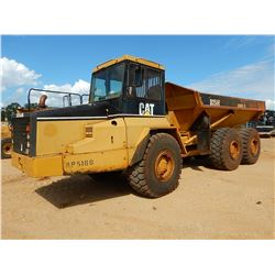 1999 CAT D250E II ARTICULATED DUMP, VIN/SN:4PS00169 - CAB, A/C, 23.5R25 TIRES, METER READING 15,827