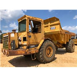 CAT D25 ARTICULATED DUMP, VIN/SN:9YC00514 - CAB, 26.5-25 TIRES, METER READING 5,025 HOURS