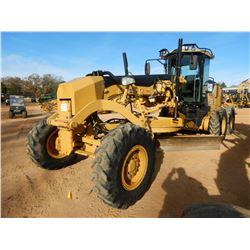 2010 CAT 140M VHP MOTOR GRADER, VIN/SN:B9M00961 - 14' MOLDBOARD, SCARIFER, CAB, A/C, 14.00-24 TIRES,