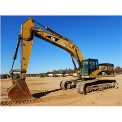 "2008 CAT 345DL HYDRAULIC EXCAVATOR, VIN/SN:EEH00244 - 13' STICK, 50"" BUCKET, CAB, A/C, METER READING"