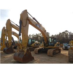 "2007 CAT 330DL HYDRAULIC EXCAVATOR, VIN/SN:MWP01528 - 10'-6"" STICK, 60"" BUCKET, CAB, A/C, METER READ"