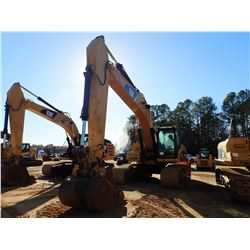 "2008 CAT 325DL HYDRAULIC EXCAVATOR, VIN/SN:A3R01089 - 10' - 6"" STICK, 48"" BUCKET, CAB, A/C, METER RE"