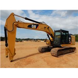 "2015 CAT 323FL HYDRAULIC EXCAVATOR, VIN/SN:YEJ00219 - 9' - 6"" STICK, CAB, A/C, METER READING 10,200"