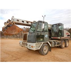 "GRADALL XL4100 SERIES 2 WHEELED EXCAVATOR, VIN/SN:0210017760 - 60"" CLEAN OUT BUCKET, CAB, A/C, ODOME"
