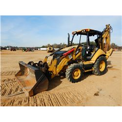 2014 CAT 420F IT LOADER BACKHOE, VIN/SN:JWJ03268 - 4X4, E-STICK, COUPLER, FORKS, BUCKET, AUX HYD, CA