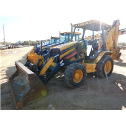 CAT 420D IT LOADER BACKHOE, VIN/SN:BLN05484 - 4X4, COUPLER, BUCKET, AUX HYD, CANOPY, METER READING 1