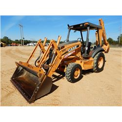 2008 CASE 580M SERIES 3 LOADER BACKHOE, VIN/SN:N8C500847 - 4X4, BUCKET, CANOPY, METER READING 2,081