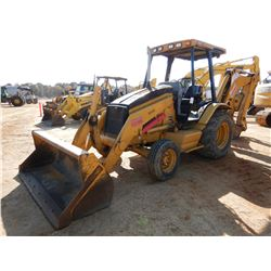 2005 CAT 416D LOADER BACKHOE, VIN/SN:BFP14886 - BUCKET, CANOPY, METER READING 4,162 HOURS
