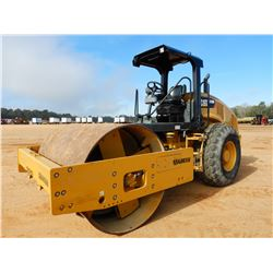 "2016 CAT CS56B ROLLER, VIN/SN:S5600318 - VIBRATORY, 84"" PADFOOT DRUM, CANOPY, METER READING 862 HOUR"