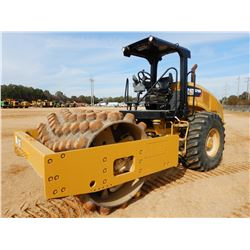 "2016 CAT CP56B ROLLER, VIN/SN:P5600214 - VIBRATORY, 84"" PADFOOT DRUM, CANOPY, METER READING 1,295 HO"