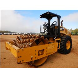 "2016 CAT CP56B ROLLER, VIN/SN:P5600228 - VIBRATORY, 84"" PADFOOT DRUM, CANOPY, METER READING 1,536 HO"