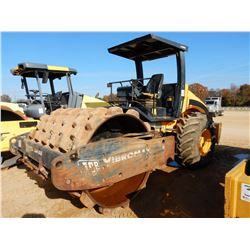"JCB VM115 ROLLER, VIN/SN:1800366 - VIBRATORY, 84"" PADFOOT DRUM, CANOPY, METER READING 3,727 HOURS"