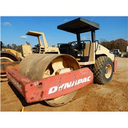 "DYNAPAC CA362D ROLLER, VIN/SN:72420771 - VIBRATORY, 84"" SMOOTH DRUM, CANOPY"