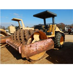 "DYNAPAC CA252 ROLLER, VIN/SN:66320419 - VIBRATORY, 84"" PADFOOT DRUM, CANOPY, METER READING 1,288 HOU"