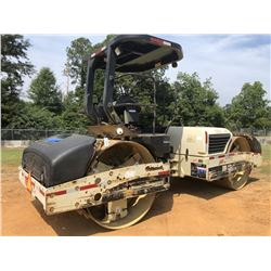"2007 INGERSOLL RAND DD118-HF ROLLER, VIN/SN:193286 - TANDEM, VIBRATORY, 78"" SMOOTH DRUMS, CANOPY, ME"