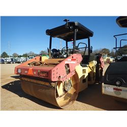 "DYNAPAC CC524HF ROLLER, VIN/SN:384S00313 - TANDEM, 77"" SMOOTH DRUMS, VIBRATORY, CANOPY, METER READIN"